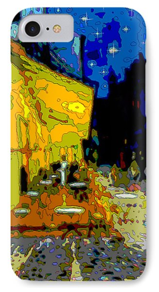 Cafe Vincent IPhone Case by Jann Paxton