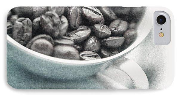 Caffeine Phone Case by Priska Wettstein