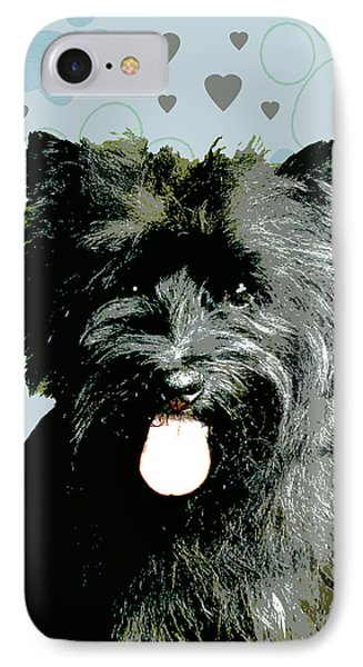 Cairn Terrier Phone Case by One Rude Dawg Orcutt