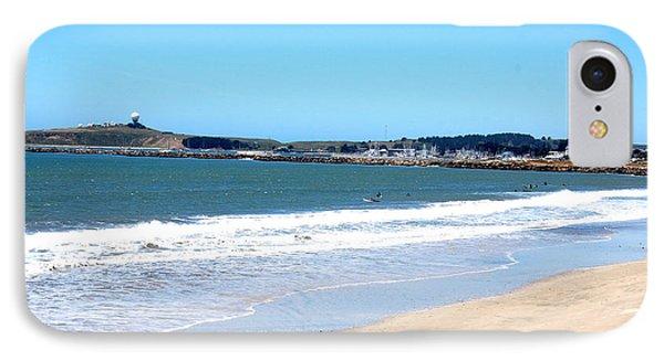 California Beach At El Granada Phone Case by Carolyn Donnell