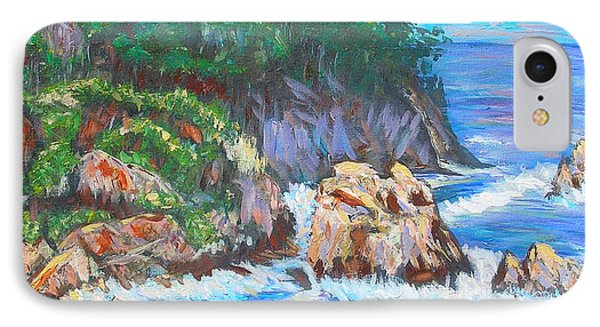 California Coast Phone Case by Carolyn Donnell