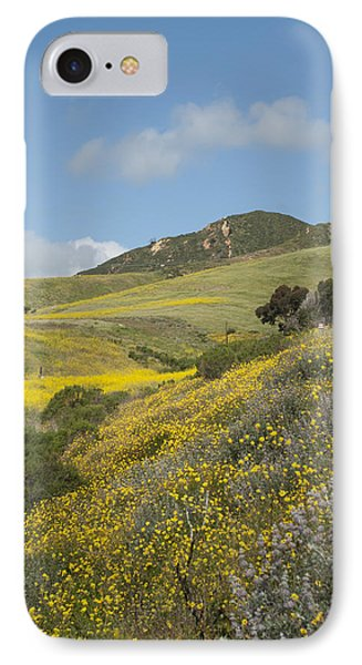 California Hillside View I IPhone Case by Kathleen Grace