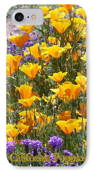 IPhone Case featuring the photograph California Poppies by Carla Parris