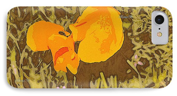 IPhone Case featuring the photograph California Poppy by Rima Biswas