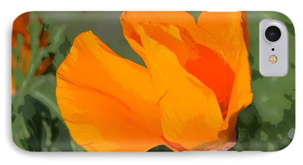 IPhone Case featuring the photograph California Poppy2 by Rima Biswas