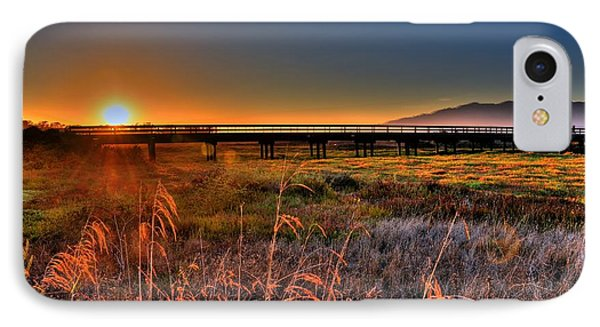 IPhone Case featuring the photograph California Sunset by Marta Cavazos-Hernandez