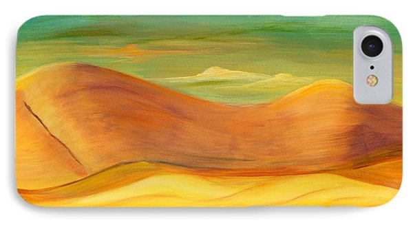 IPhone Case featuring the painting California Sunset by Terry Taylor