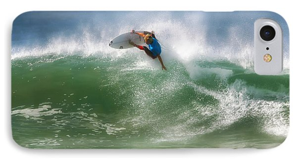 California Surfing 1 IPhone Case by Larry Marshall