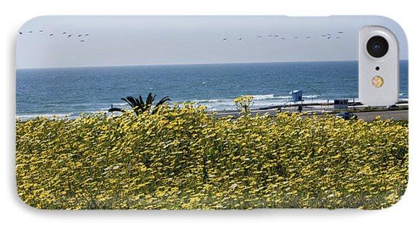 California Wildflowers Phone Case by Daniel  Knighton