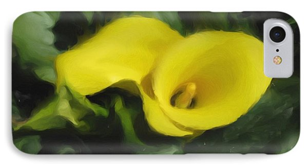Calla Lily IPhone Case by Hai Pham