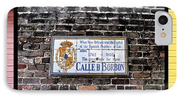Calle D Borbon Phone Case by Bill Cannon