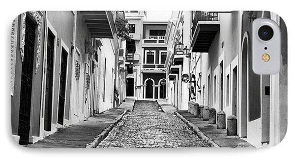 Calle De Guijarro Phone Case by John Rizzuto