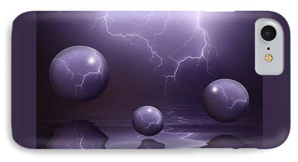 Calm Before The Storm IPhone Case by Shane Bechler