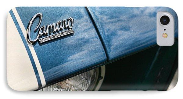 Camaro By Chevrolet IPhone Case by Gordon Dean II