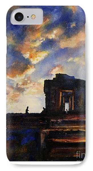 Cambodian Sunset Phone Case by Ryan Fox