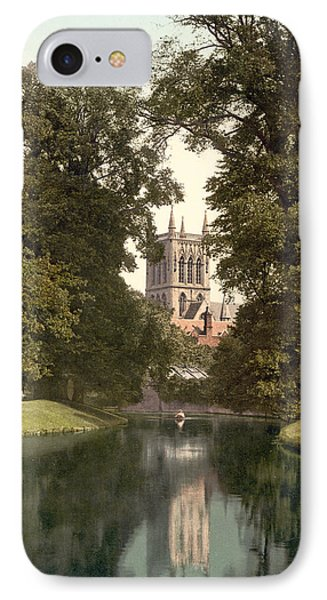Cambridge - England - St. Johns College Chapel From The River Phone Case by International  Images