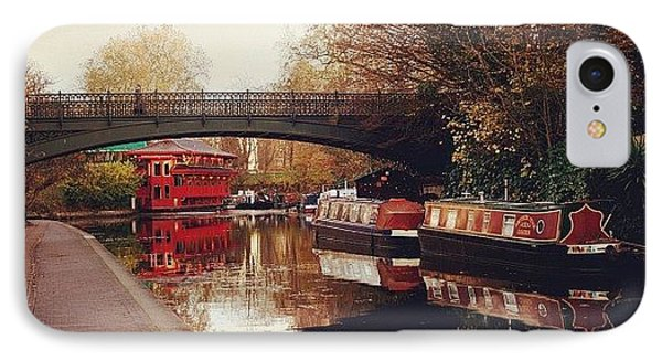 London iPhone 7 Case - #camden #camdencanal #camdentown by Ozan Goren