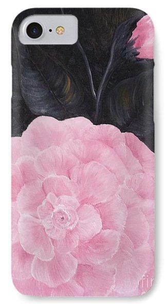 Camelia Phone Case by Rhonda Lee