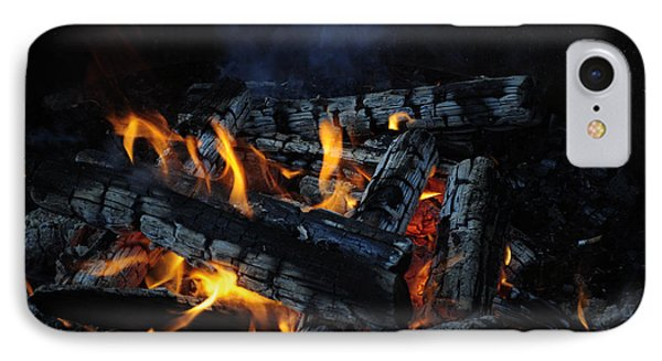 IPhone Case featuring the photograph Campfire by Fran Riley