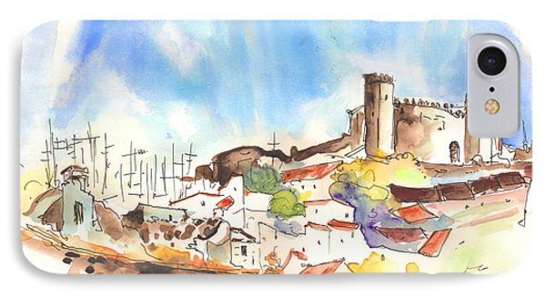 Campo Maior In Portugal 02 Phone Case by Miki De Goodaboom