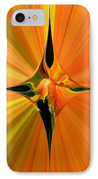 Cana Lily In Hyperdrive IPhone Case by Gordon Engebretson