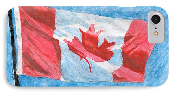 Canada Day IPhone Case by Ana Tirolese