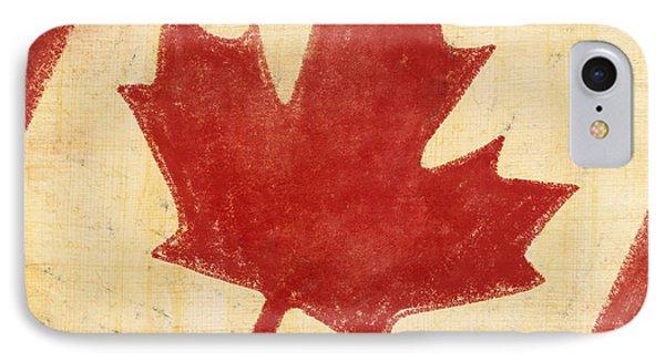 Canada Flag Phone Case by Setsiri Silapasuwanchai