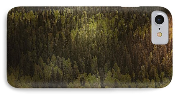 Canadian Forest - The Woods Are Lovely Dark And Deep Phone Case by Christine Till