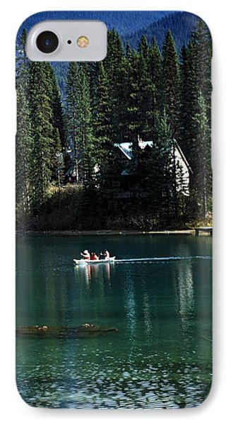 Canadian Rockies Phone Case by John Doornkamp