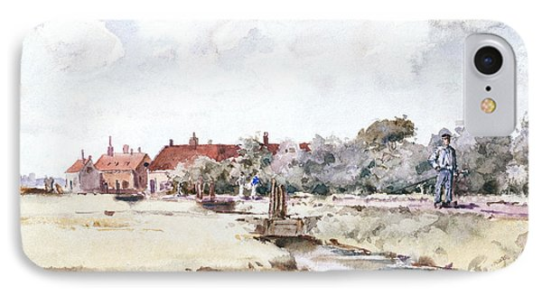 Canal Scene Phone Case by Childe Hassam