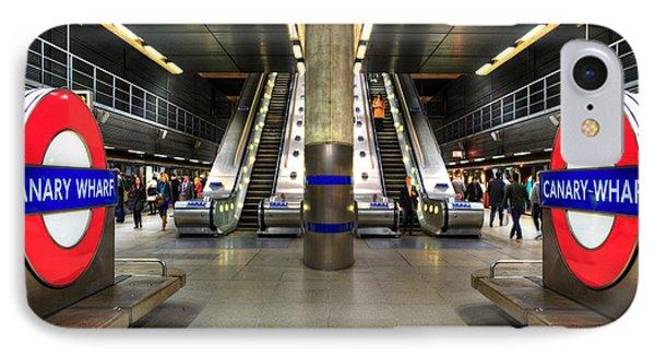 Canary Wharf Station Phone Case by Svetlana Sewell