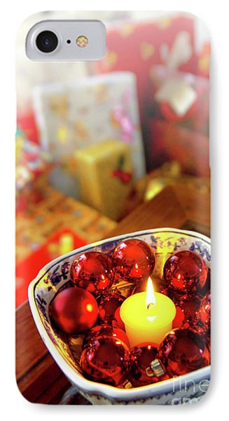 Candle And Balls Phone Case by Carlos Caetano