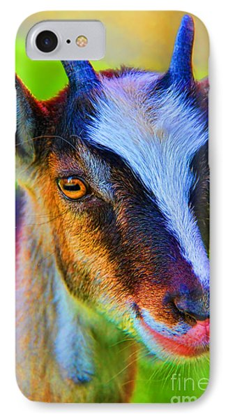 Candy Goat Phone Case by Mariola Bitner