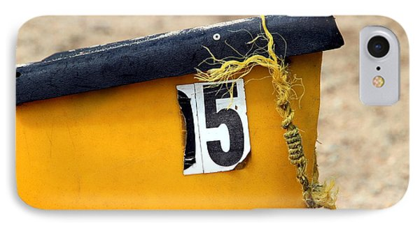 Canoe Details Phone Case by Valentino Visentini