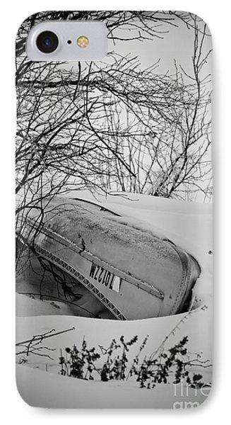 Canoe Hibernation Phone Case by Mark David Zahn Photography