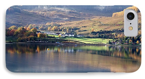 IPhone Case featuring the photograph Canoeing On Loch Goil by Lynn Bolt