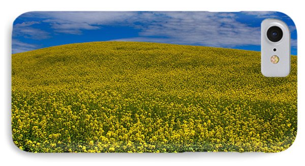 Canola Field In The Palouse IPhone Case