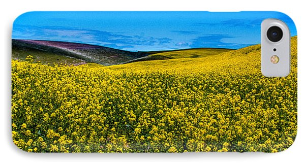 Canola Hills In The Palouse IPhone Case