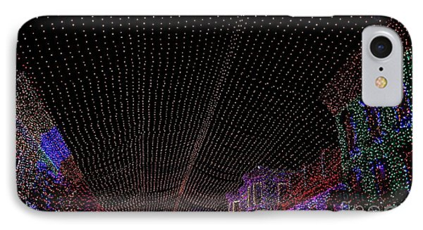 Canopy Of Lights Phone Case by Ronnie Glover