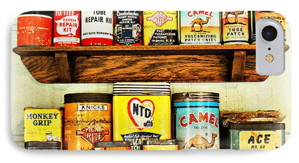 Cans Of Old Phone Case by Marty Koch