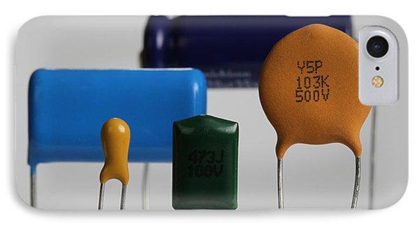 Capacitors IPhone Case