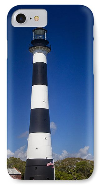 Cape Canaveral Lighthouse 2 Phone Case by Roger Wedegis