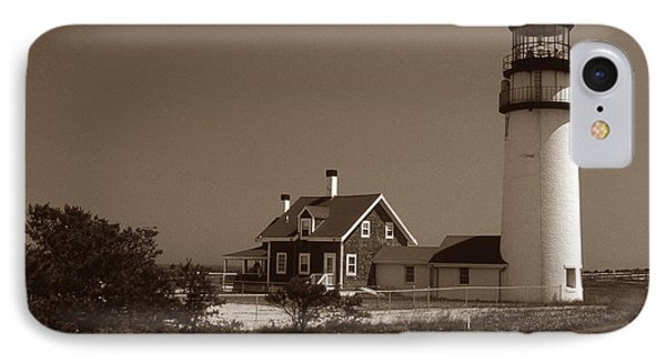 Cape Cod Lighthouse Phone Case by Skip Willits