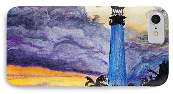 Cape Florida Lighthouse Phone Case by Roger Wedegis
