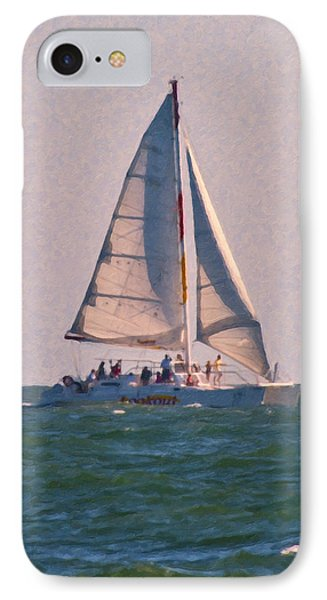 Cape Lookout Sailboat IPhone Case