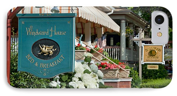 Cape May Bed And Breakfast Phone Case by John Greim