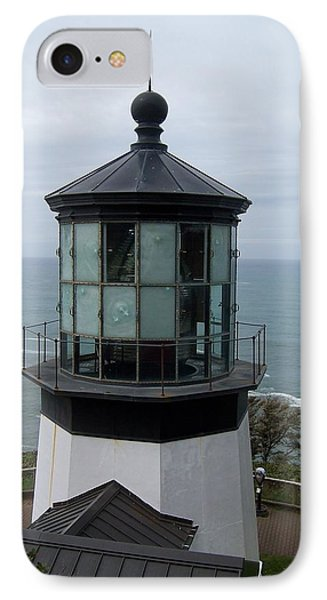 Cape Meares Lighthouse IPhone Case by Peter Mooyman