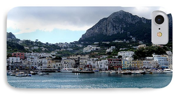 IPhone Case featuring the photograph Capri 10 by Tanya  Searcy