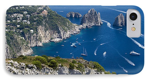 Capri Phone Case by Francesco Riccardo  Iacomino