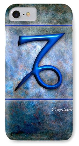 Capricorn  Phone Case by Mauro Celotti